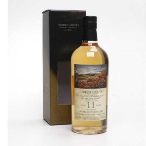 Aberfeldy 11 years 2009-2020-53,3 % Hidden Spirits